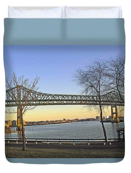 Tobin Bridge Duvet Cover