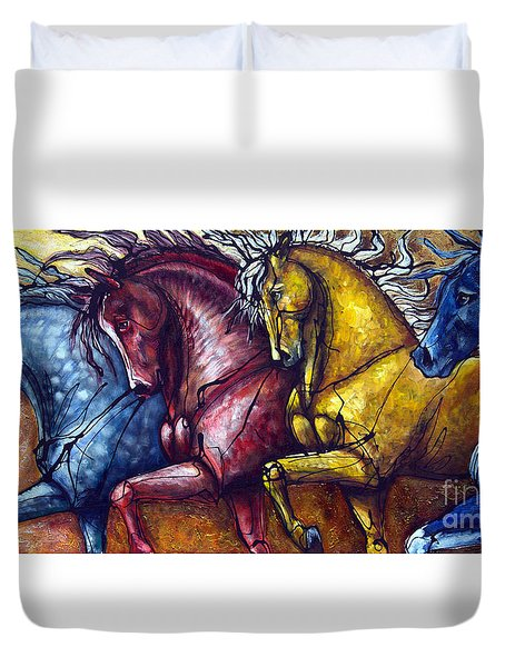 Together Again Duvet Cover