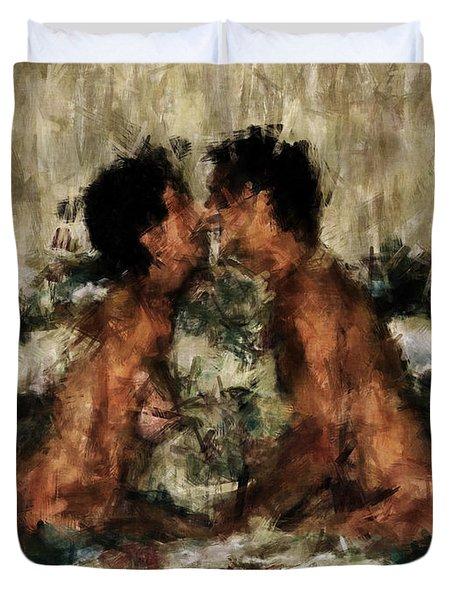 Together Duvet Cover by Kurt Van Wagner