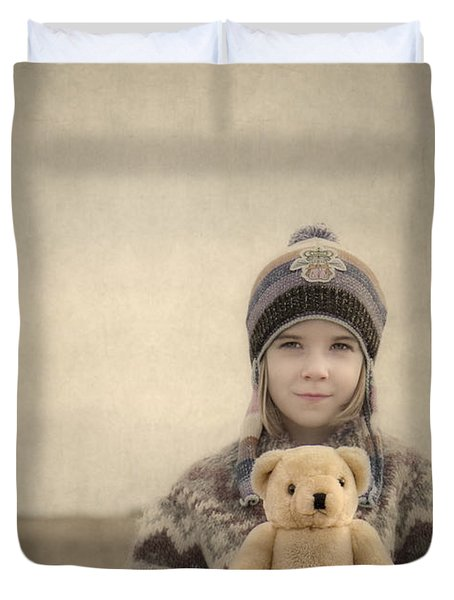 Together They Dream Into The Evening Duvet Cover by Evelina Kremsdorf