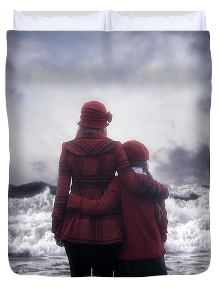 Together We Are Strong Duvet Cover by Joana Kruse