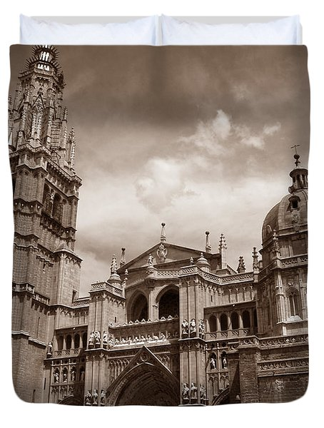 Toledo Cathedral Duvet Cover