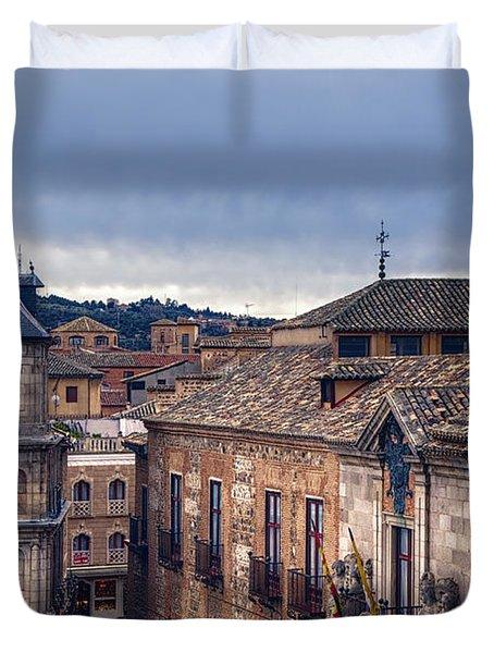Toledo Rooftops II Duvet Cover