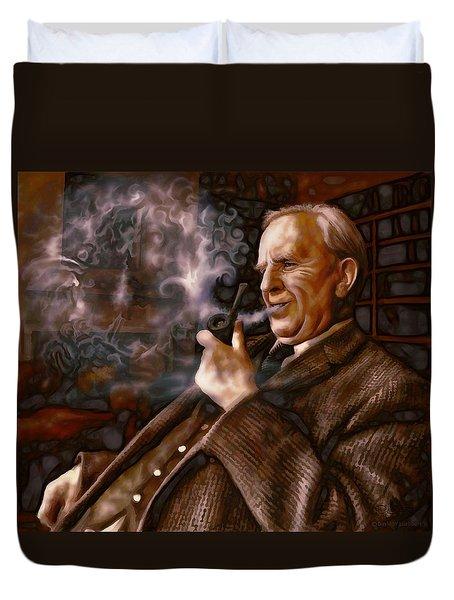 Tolkien Daydreams Duvet Cover