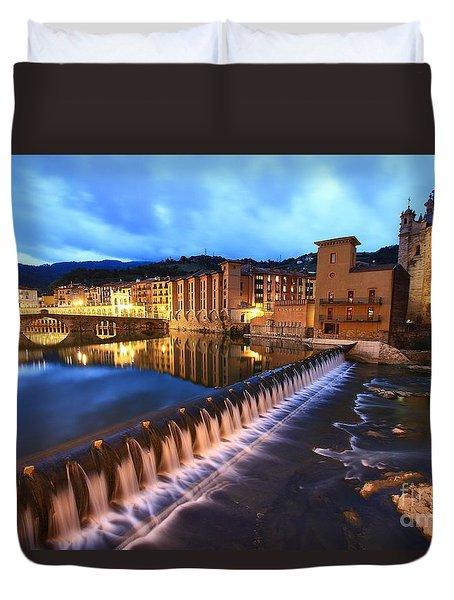 Duvet Cover featuring the photograph Tolosa Basque Country by Mariusz Czajkowski