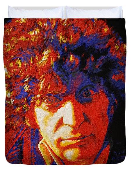 Tom Baker Duvet Cover