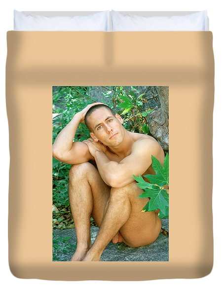 Tom D. 1 Duvet Cover