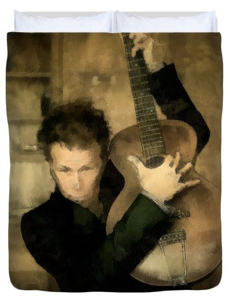 Tom Waits Duvet Cover
