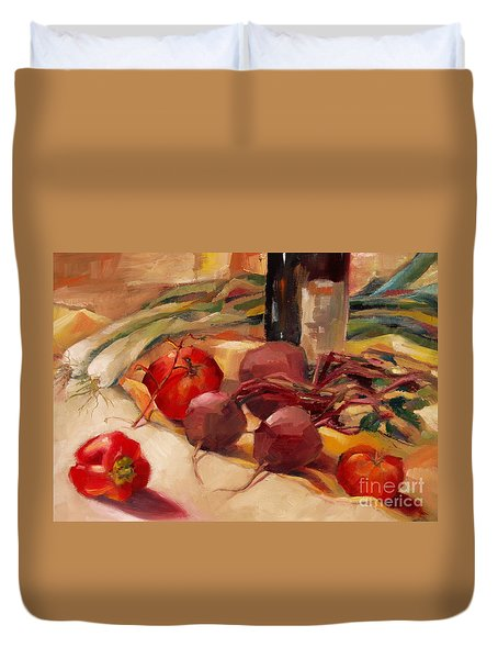 Tom's Bounty Duvet Cover