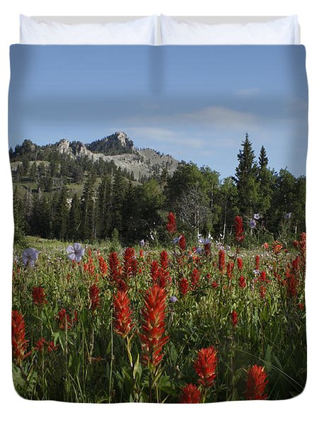 Tony Grove Lake Duvet Cover