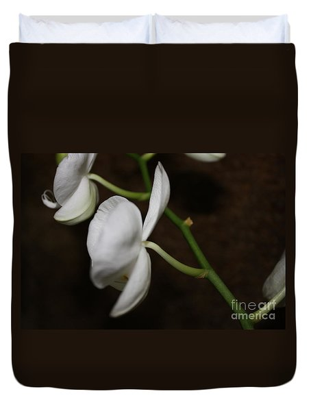 Too Orchid Duvet Cover