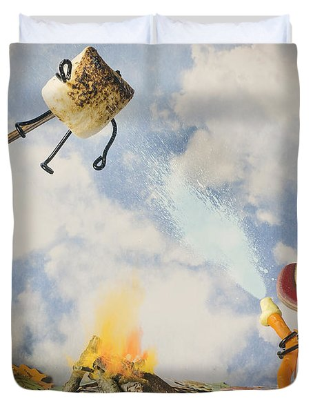 Too Toasted Duvet Cover