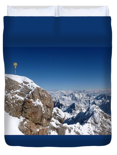 Top Of Germany  Duvet Cover by The Creative Minds Art and Photography