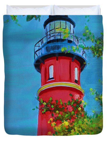 Top Of The House Duvet Cover