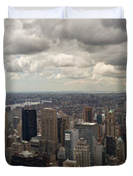 Top Of The Rock View Duvet Cover