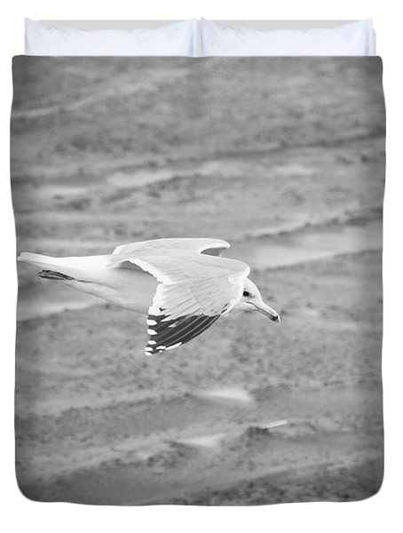 Top Secret Seagull Drone Duvet Cover
