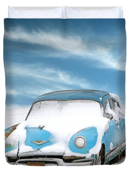 Topeka Blues Duvet Cover