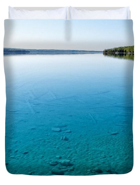 Torch Lake Duvet Cover
