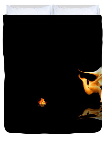 Torch Relay Duvet Cover