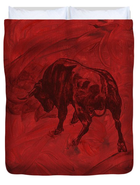 Toro Painting Duvet Cover