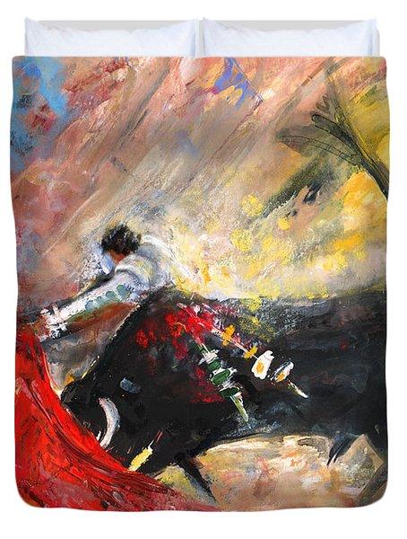 Toroscape 46 Duvet Cover by Miki De Goodaboom