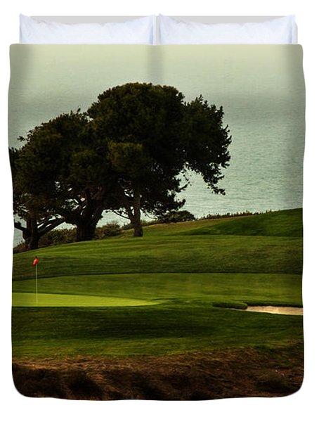 Torrey Pines Golfcourse Duvet Cover