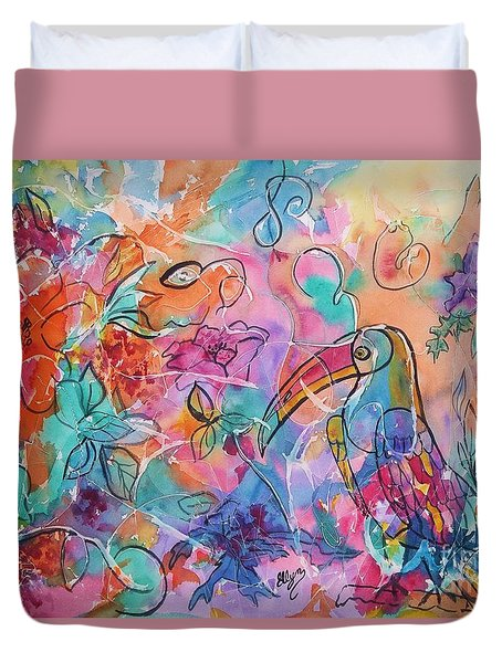 Toucan Dreams Duvet Cover