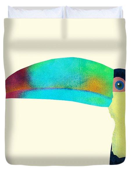 Toucan Duvet Cover
