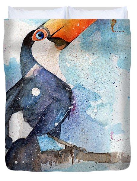 Toucan Sam Duvet Cover