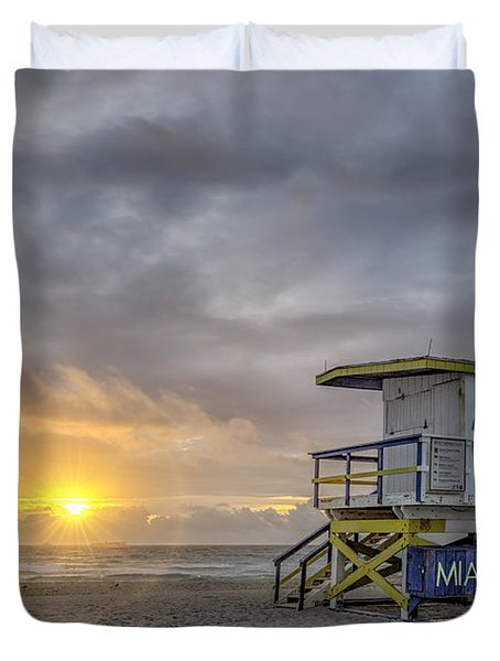 Touch A New Day Duvet Cover