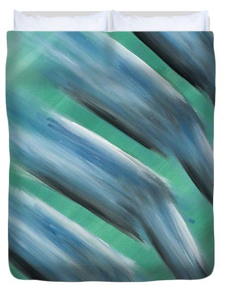Touch Of Cool Duvet Cover by Brent Buss