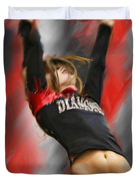 Touchdown Duvet Cover by Blake Richards