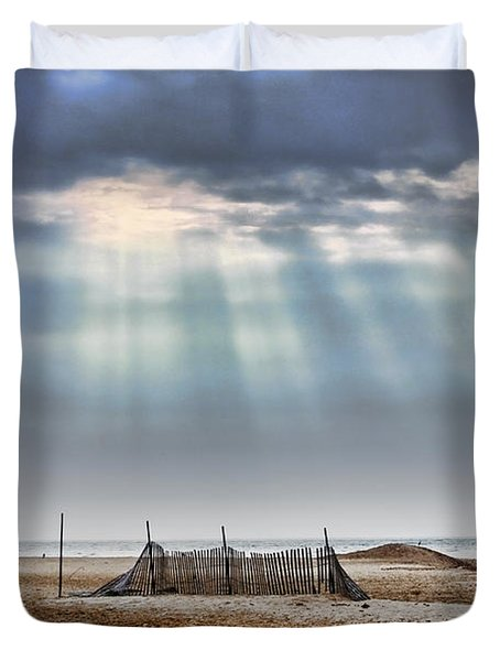 Touched By Heaven Duvet Cover by Sennie Pierson