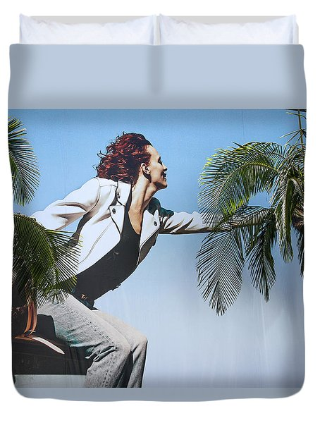Touching The Canopy.  Duvet Cover