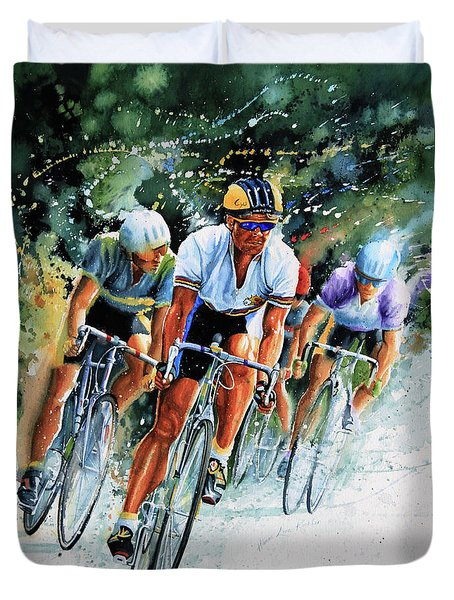 Tour De Force Duvet Cover by Hanne Lore Koehler