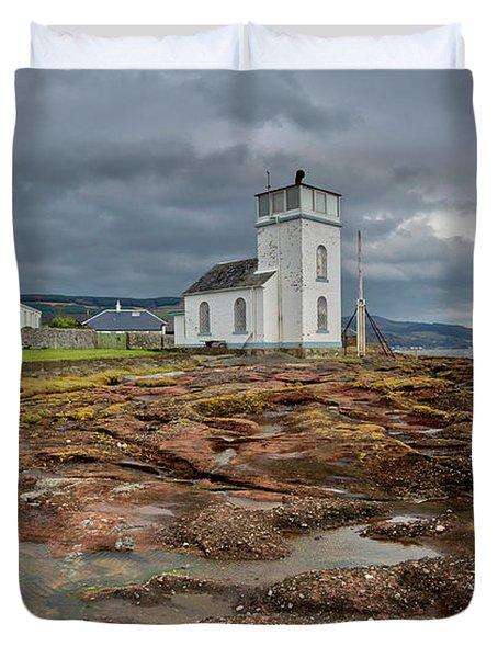 Toward Lighthouse  Duvet Cover