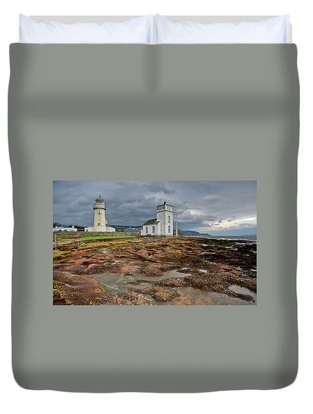 Toward Lighthouse  Duvet Cover