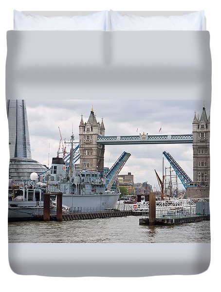 Tower Bridge Opens Duvet Cover