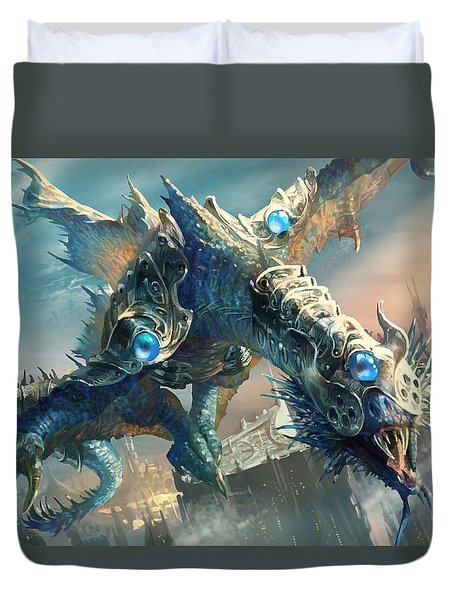 Tower Drake Duvet Cover by Ryan Barger