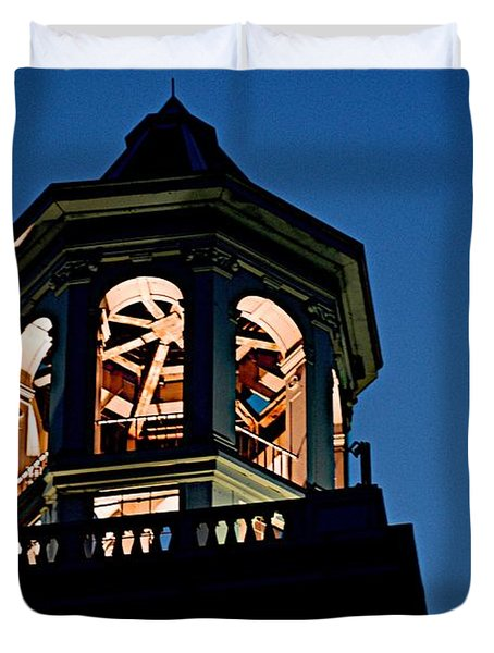 Tower Duvet Cover by Joseph Yarbrough