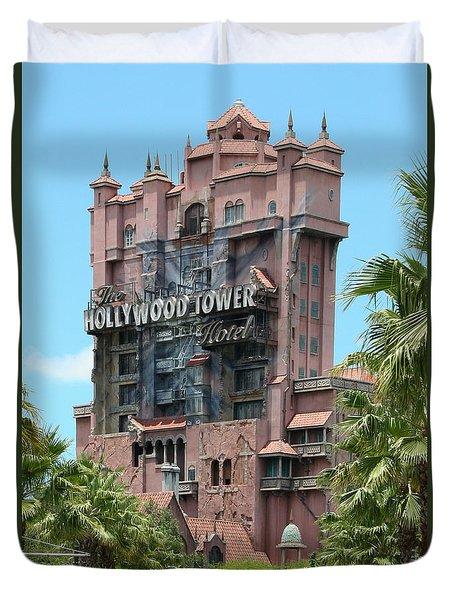 Tower Of Terror Duvet Cover