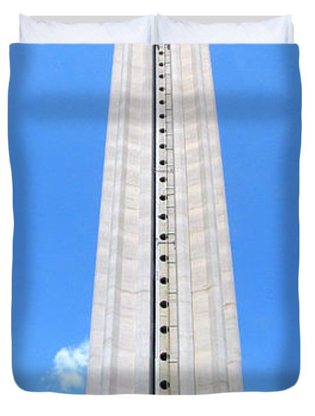 Tower Of The Americas Duvet Cover