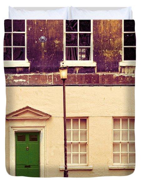 Townhouse Duvet Cover by Jill Battaglia