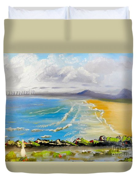Towradgi Beach Duvet Cover