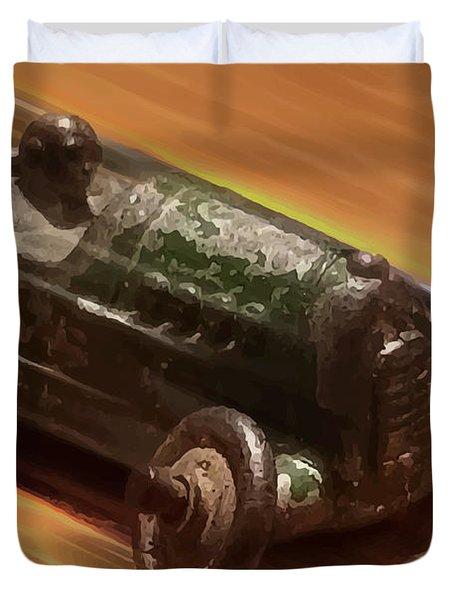 Toy Car Duvet Cover
