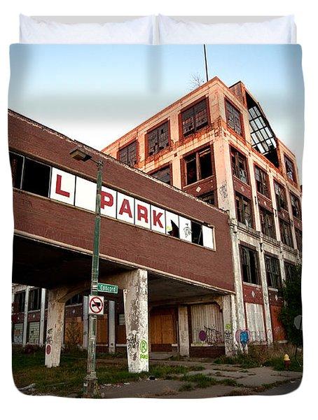 Tr L Park Duvet Cover