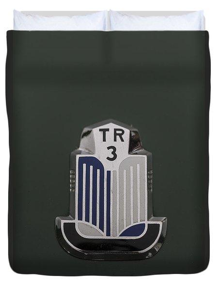 Tr3 Hood Ornament 2 Duvet Cover