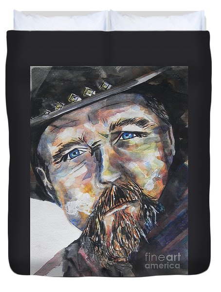 Trace Adkins..country Singer Duvet Cover
