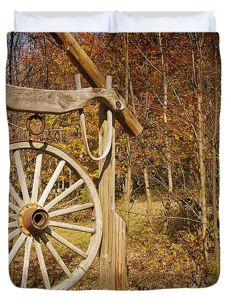 Trail's End Duvet Cover by A New Focus Photography