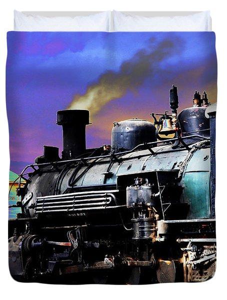 Train 489 Duvet Cover by Steven Bateson